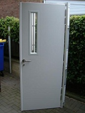 Standard security entrance doors